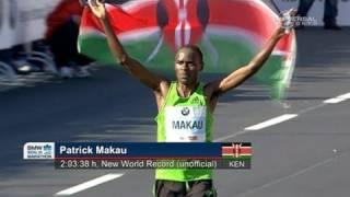 Makau sets new Marathon World Record - from Universal Sports