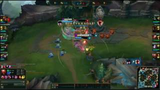 GRAGAS 3 V 1 DIVE OUTPLAYED.