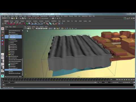 Creating a body of water simulation using Bifrost - Part 2: Generating ocean wav