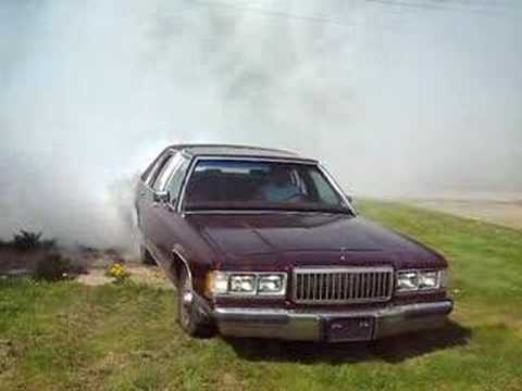 grand marquis burnout #1