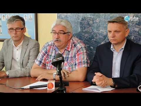 Konferencja prasowa radnych miejskich Platformy Obywatelskiej