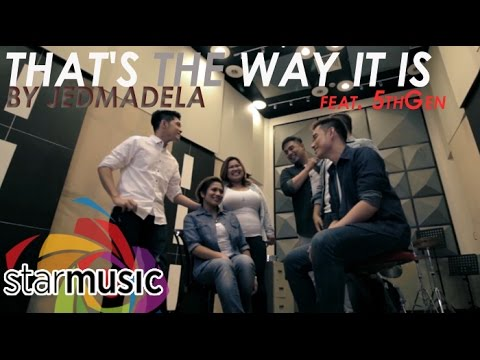 Jed Madela - That's The Way It Is feat. 5thGen (Official Music Video)