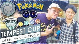 TEMPEST CUP TOURNAMENT TOP 3 FINISH! (4W-1L)   Pokémon GO