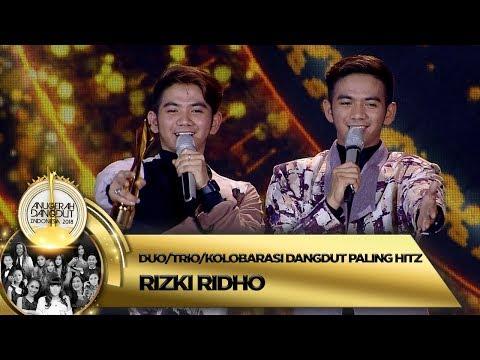 Selamat! Rizki Ridho Terpilih Menjadi Duo/Trio/Kolobarasi Dangdut Paling Hitz - ADi 2018 ( 16/11)