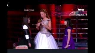 Angelica Vs Karla - Concierto 15 (semifinal) La Academia Kids Lala 2
