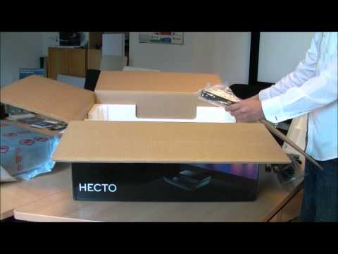 Laser TV Hecto von LG Unboxing Video