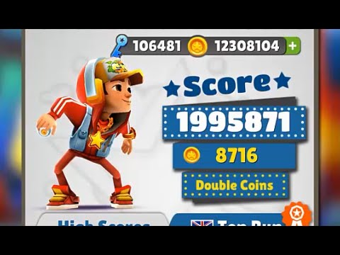 Subway Surfers SYDNEY iPad Gameplay HD #4