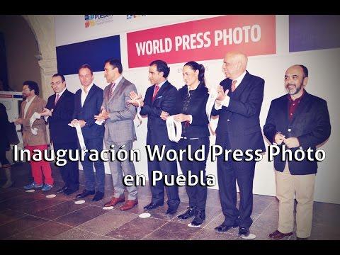 Inauguración World Press Photo en Puebla