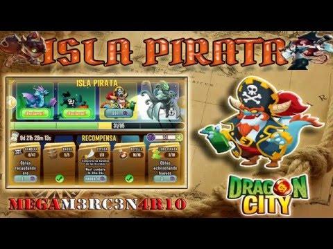 Como sacar el dragon Capitan - Isla Pirata - Dragon City 2016