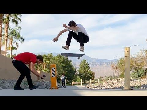 Skateboarding 2,000 Miles From Home