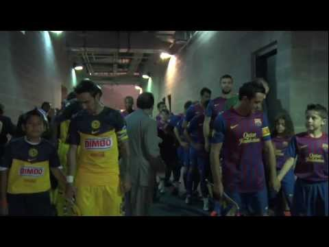 ALL ACCESS at Cowboy Stadium: FC Barcelona vs. Club America