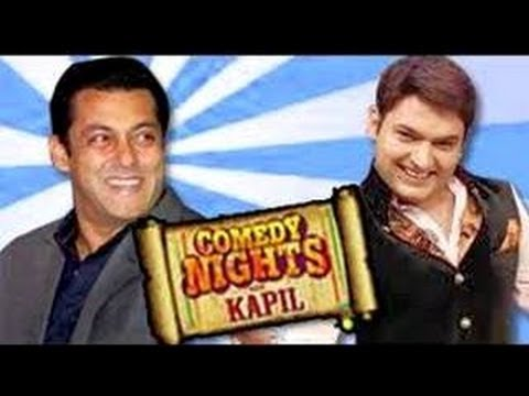 Salman Khan on Comedy Nights with Kapil to Promote Bigg Boss 7