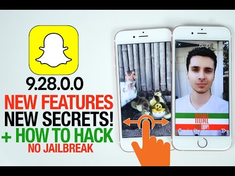 Snapchat 9.28.0.0 Update! New Secret Features & How To Hack!