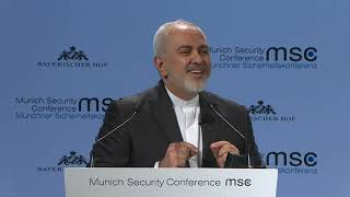 Iran's Zarif grabs #MSC2019 spotlight, slams Trump and Israel (Munich Security Conference)