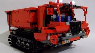 Lego Technic IR RC tracked dumper