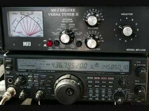 EA3AGH CONTACT VIA SATELLITE AO-27  AO-51