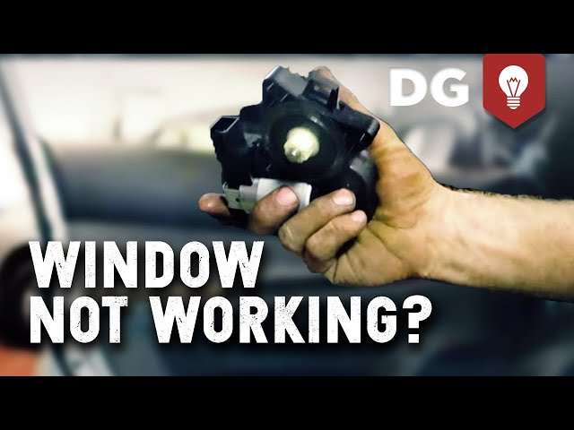 Mazda 6 Window Regulator Motor Replacement - YouTube