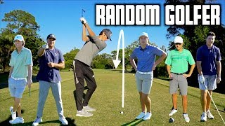 Random College Golfer Alternate Shot Challenge | GM GOLF