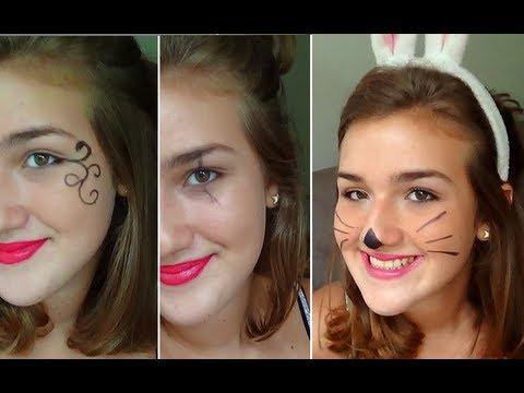 3 Pinturas Faciais (Maquiagens) para o Carnaval