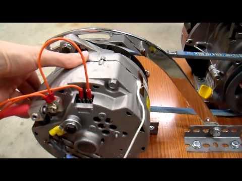 DIY 12V Generator Charger - 7 Belt Drive Update