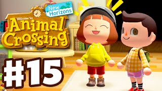 Visiting Ashley's Island! - Animal Crossing: New Horizons - Gameplay Walkthrough Part 15