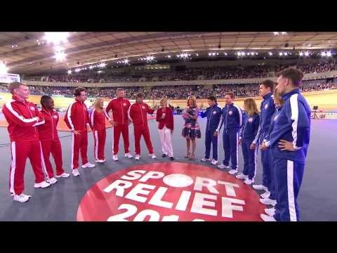 Gabby Logan and Clare Balding introduce Clash of the Titans   Sport Relief 2014