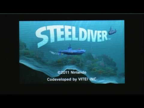 CGRundertow - STEEL DIVER for Nintendo 3DS Video Game Review Part One
