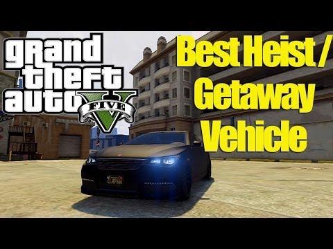 Gta V Heist Best Getaway Car