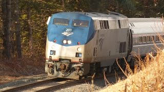 First Amtrak Train to Greenfield