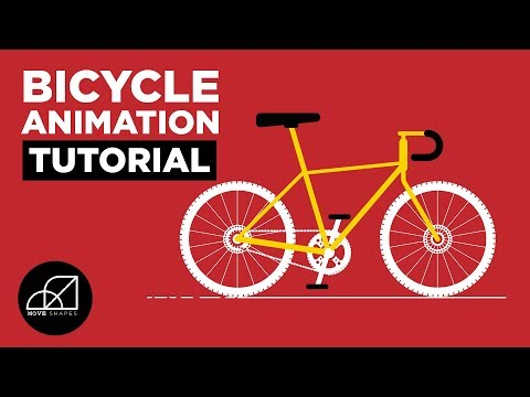 Bicycle Gears Animation in After Effects - Motion Graphics Tutorial
