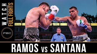 Ramos vs Santana FULL FIGHT: March 9, 2019 - PBC on FOX