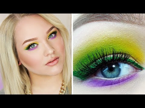 Colorful Spring Makeup Tutorial ∙ Collab with Chloe Morello!