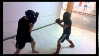 Combat Wing Chun-  light sparring for better timing