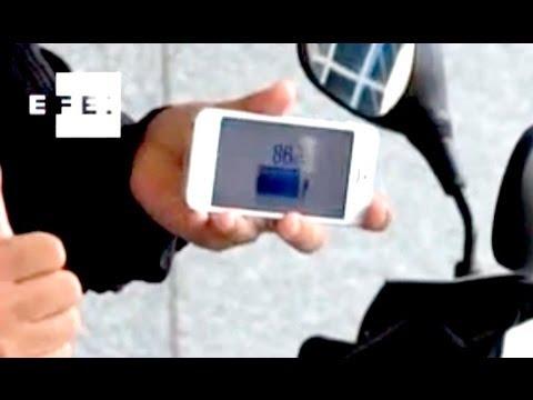 Presentan el primer scooter que se sincroniza con el móvil