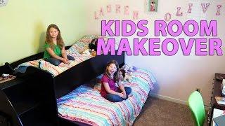 KIDS ROOM MAKEOVER (3/2/17)