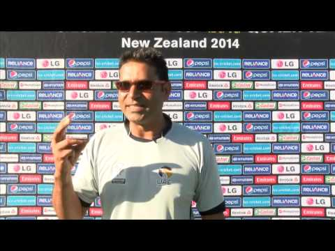 Aqib Javed post-match interview