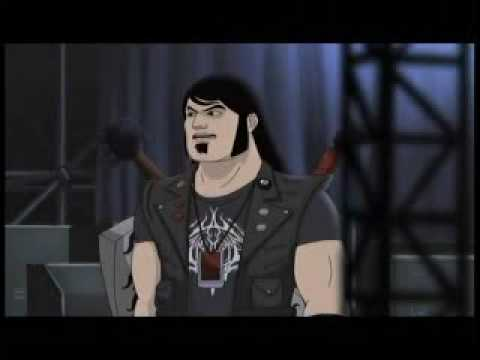 Eddie has been moonlighting for Dethklok Video