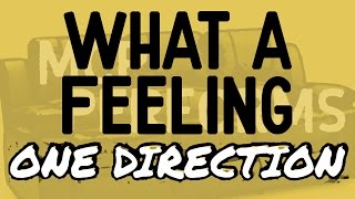 What A Feeling One Direction By Molotov Cocktail Piano