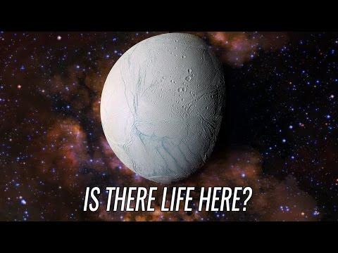Enceladus: home of alien lifeforms?