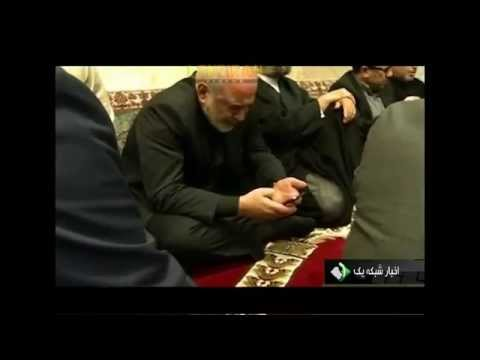Javad Zarif prayer in Vienna after negotiating nuclear issue