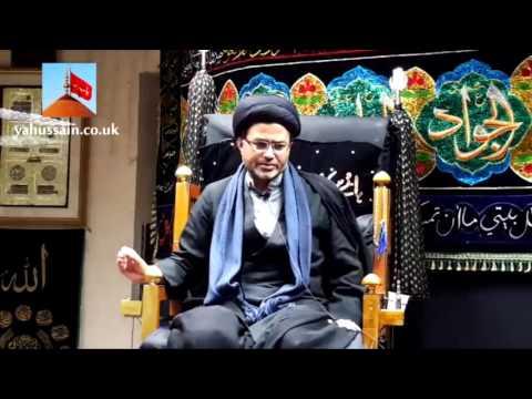 Maulana Qambar Ali Rizvi   Hussainia Imambargah - Birmingham (UK) - 23rd November 2015