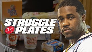 ASAP Ferg Makes Mayonnaise Sandwich, Rice With Ketchup and Sugar Milk | Struggle Plates