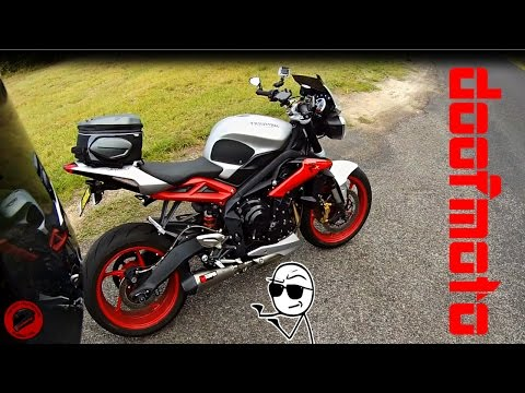 Street Triple and Scorpion Exhaust...First impressions