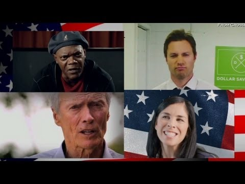 Stars, profanities and politics star in Super PAC-funded videos