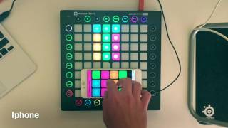 Super pads: Something just like this. (Iphone vs Launchpad Pro) What do you prefer?