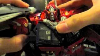 Transformers DOTM Sentinel Prime Speech and Sound Clips