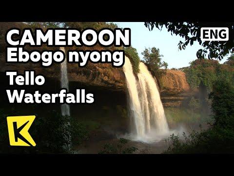 【K】Cameroon Travel-Ebogo Nyong[카메룬 여행-에보고니용그]에보고 니용그 강, 텔로 폭포/Tello Waterfalls/Ebogo Nyong River