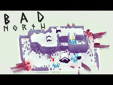 Hilltop Massacre! - Bad North Gameplay
