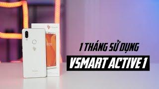 Trải nghiệm 1 tháng sử dụng Vsmart Active 1