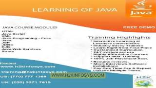 Java J2EE Training online | Java Struts 2 Tutorial | JAXB Context, Flow Diagram